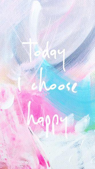 Painting Today I choose Happy_Kalmanova