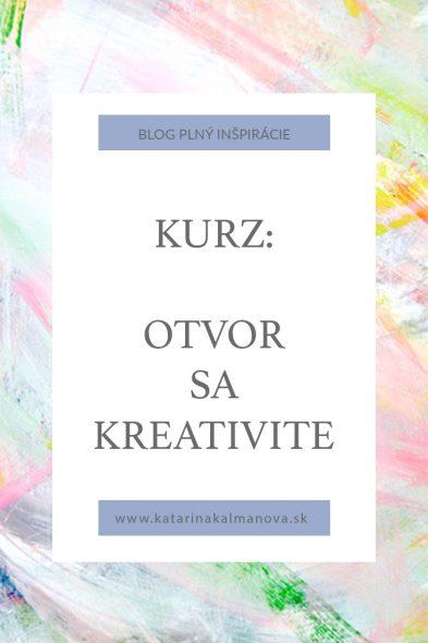 kreatívny kurz