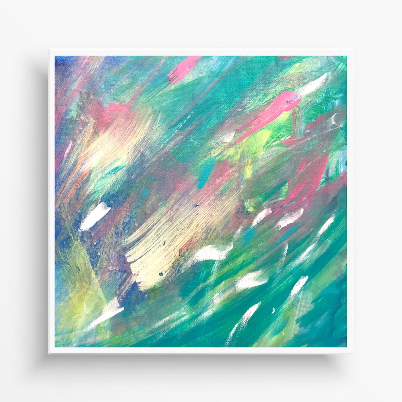 abstraktný obraz